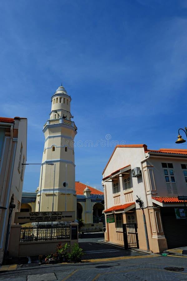 Mesquita de Lebuh Aceh imagens de stock