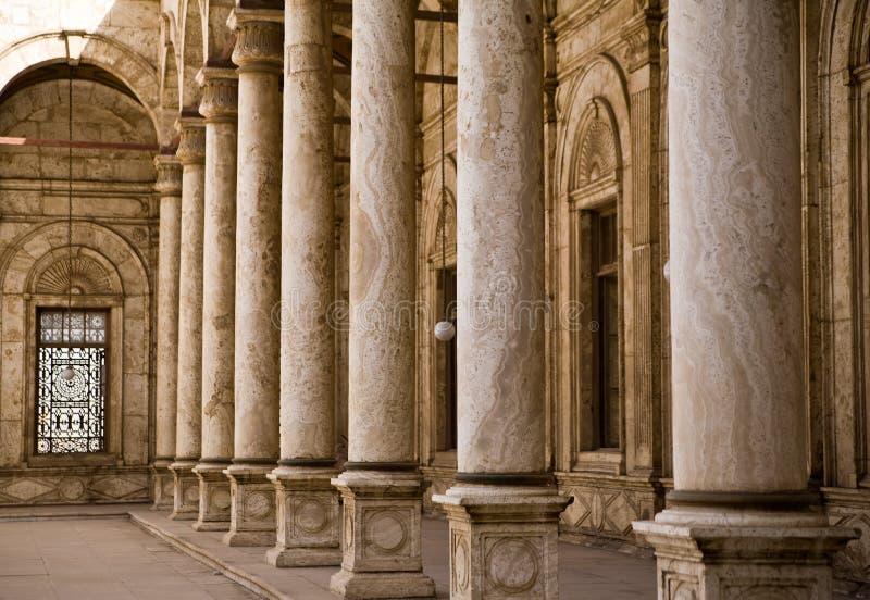 Mesquita de Mohamed Ali, Saladin Citadel, o Cairo, Egito fotos de stock royalty free