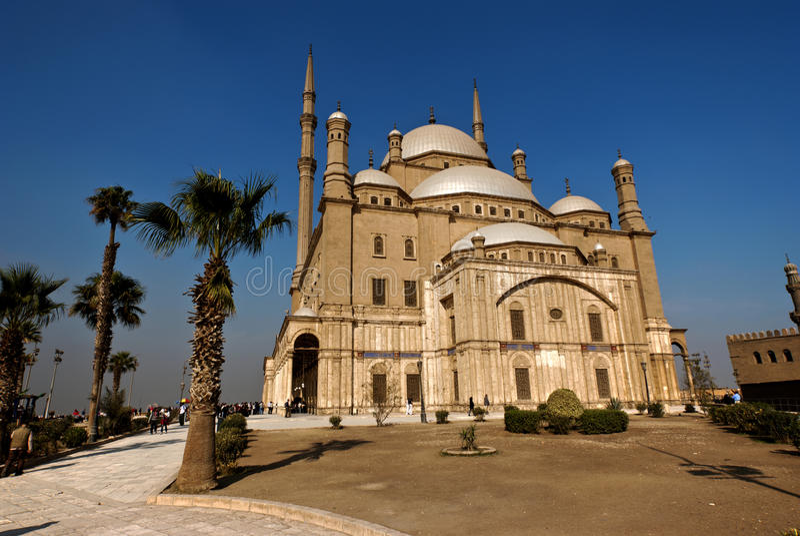 Mesquita de Muhammad Ali foto de stock royalty free