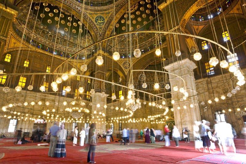 Mesquita de Muhammad Ali fotografia de stock royalty free
