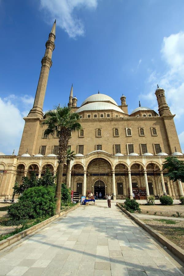 A mesquita de Muhammad Ali, o Cairo, Egito fotos de stock