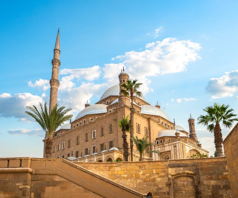 Mesquita de Muhammad Ali Pasha fotografia de stock royalty free