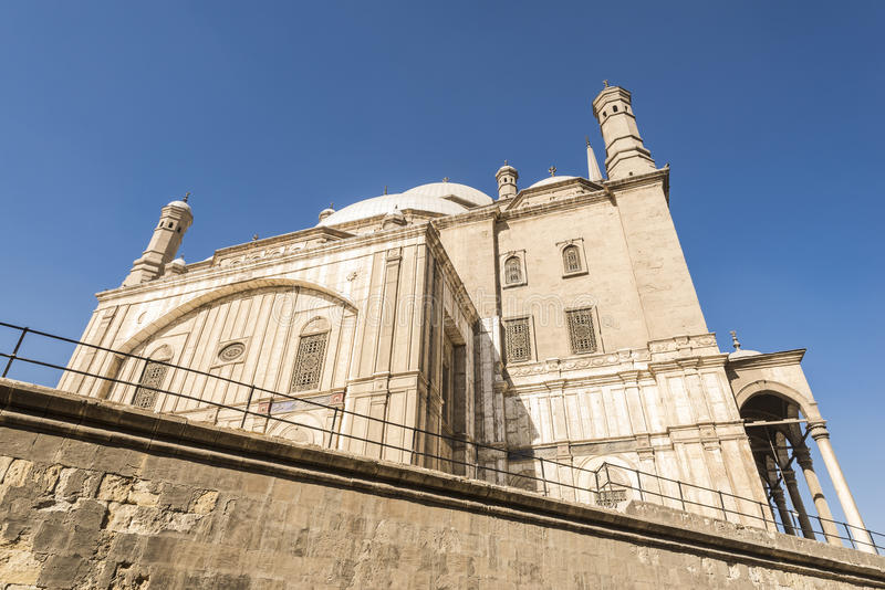 Mesquita de Muhammad Ali, Saladin Citadel do Cairo, Egito fotos de stock royalty free
