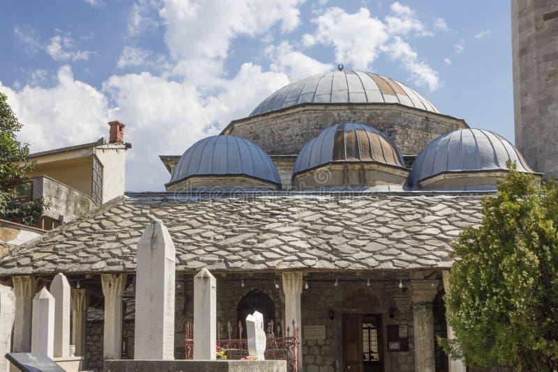 Mesquita de Nesuh Aga Vucjakovic foto de stock royalty free