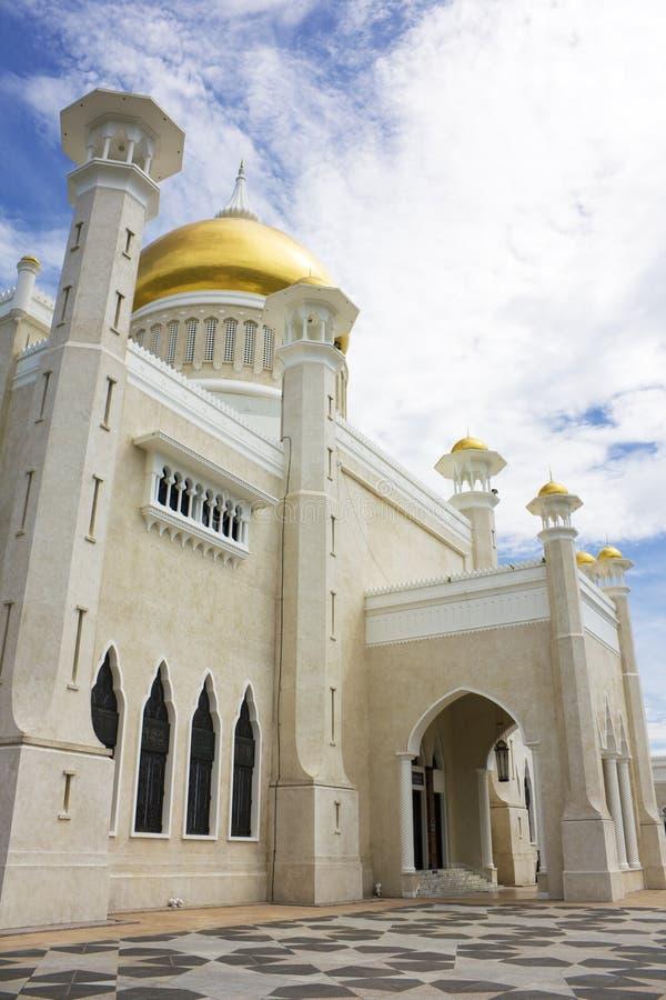 Mesquita de Omar Ali Saifuddien da sultão, Brunei foto de stock