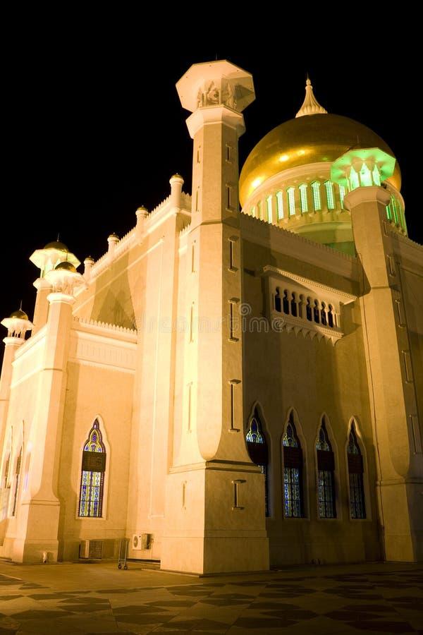 Mesquita de Omar Ali Saifuddien da sultão, Brunei imagem de stock