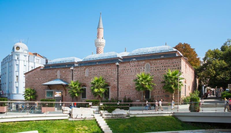 A mesquita de Plovdiv, Bulgária foto de stock
