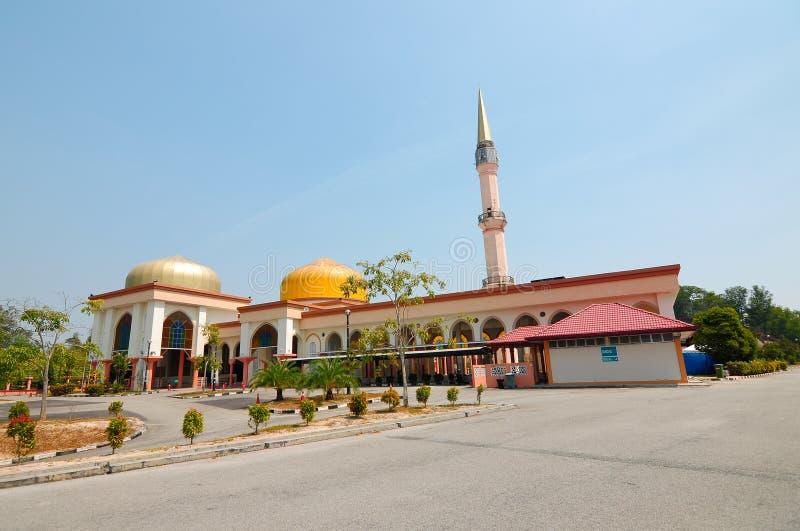 Mesquita de Putra Nilai em Nilai, Negeri Sembilan, Malásia fotografia de stock
