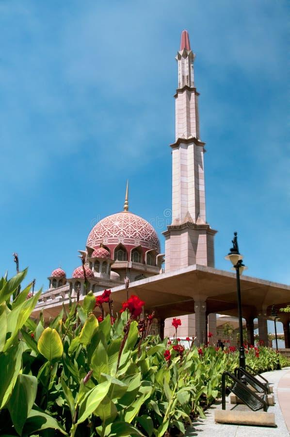 Mesquita de Putrajaya fotos de stock royalty free