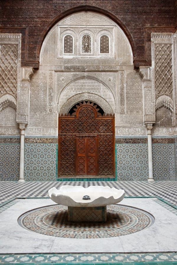 Mesquita de Qarawiyyin, Fes. imagens de stock royalty free