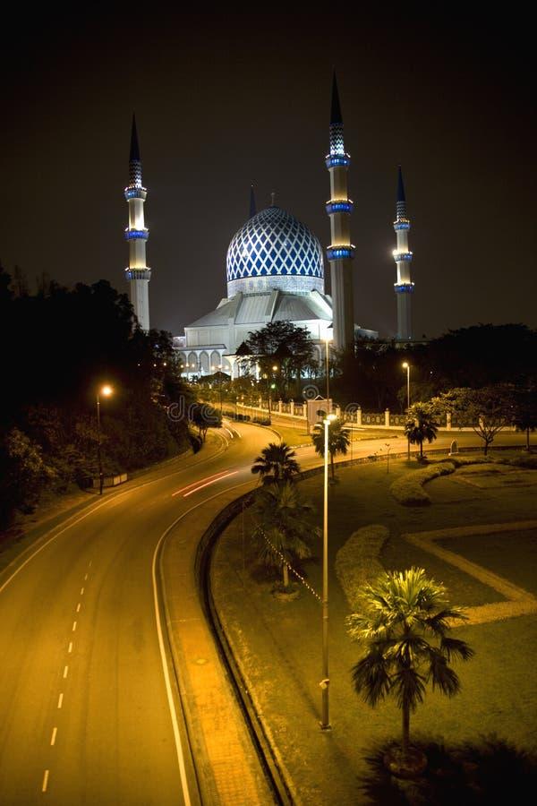 Mesquita de Salahuddin Abdul Aziz Shah da sultão imagem de stock