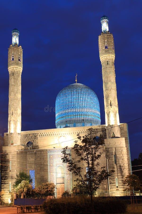 Mesquita de St Petersburg imagens de stock royalty free