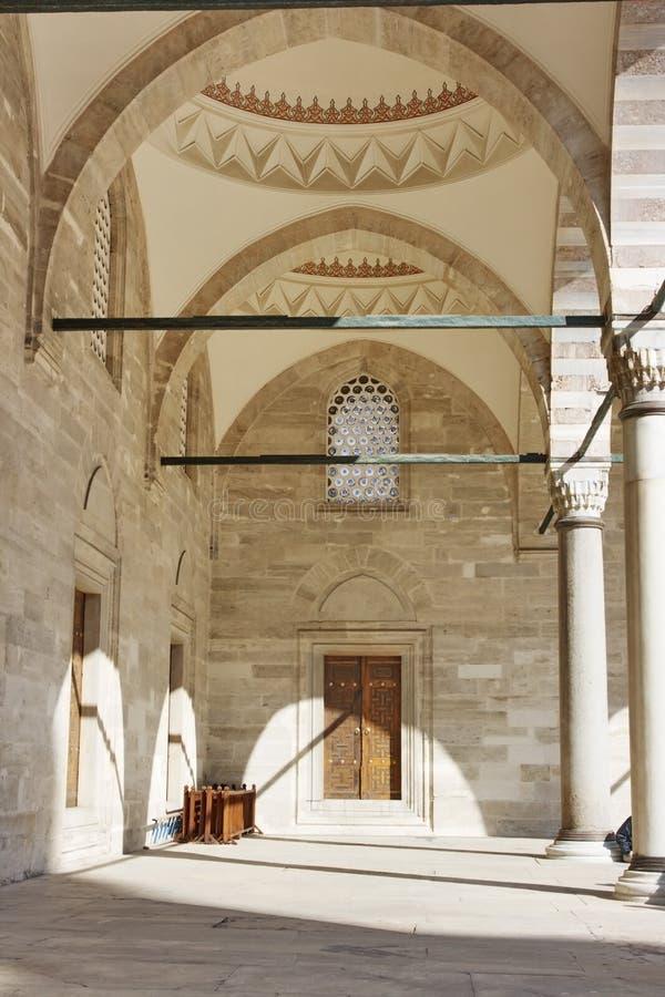 Mesquita de Suleymaniye (camii), Istambul foto de stock