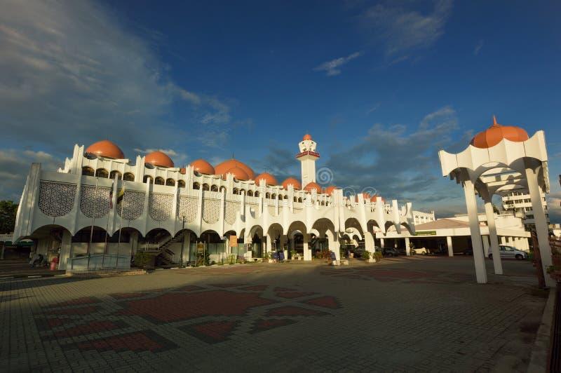 Mesquita de Sultan Idris Shah II fotografia de stock