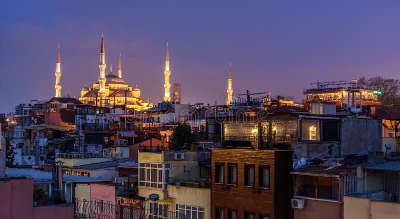 Mesquita de Sultan Mehmet, Istambul imagens de stock