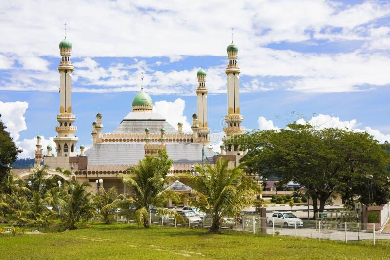 Mesquita de Tamoi do Kampong, Brunei foto de stock