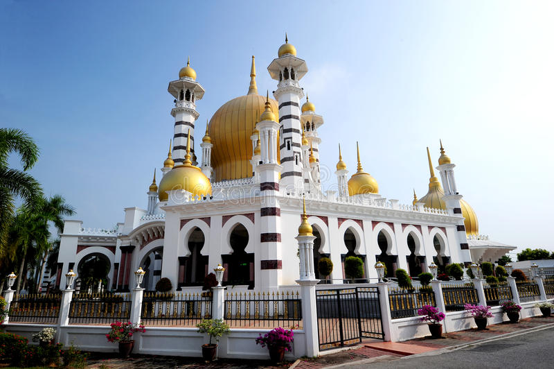 Mesquita de Ubudiah imagem de stock royalty free