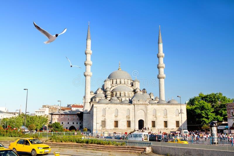 Mesquita de Yeni, Istambul imagem de stock