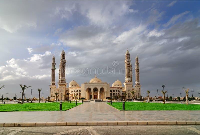 Mesquita do aL-Saleh imagens de stock