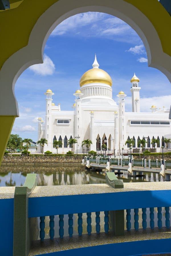 Mesquita do Bruneian imagem de stock royalty free