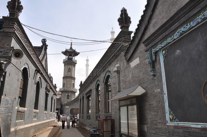 Mesquita do estilo chinês imagem de stock