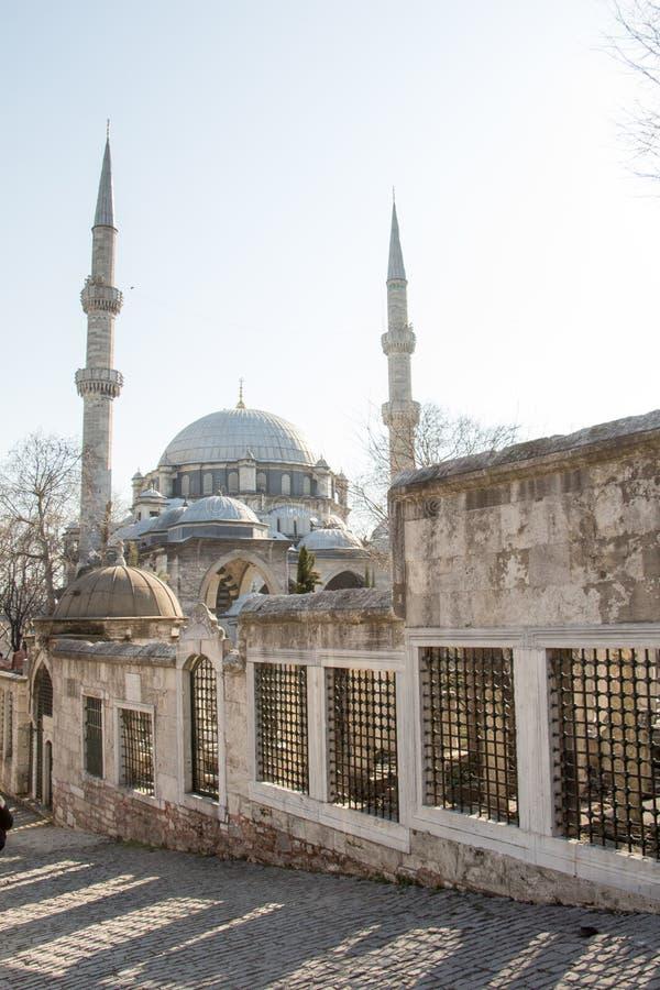 Mesquita do estilo do otomano em Istambul fotos de stock royalty free