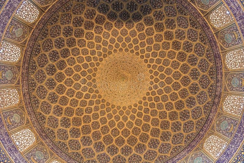 Mesquita do lotfallah de Sheykh foto de stock royalty free