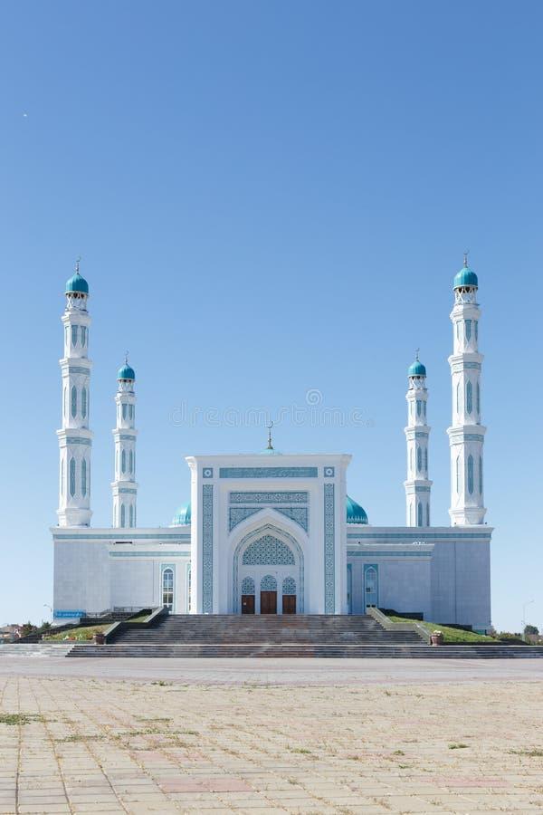Mesquita do oblast de Karaganda Karaganda, Cazaquistão fotos de stock royalty free
