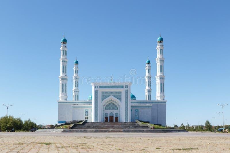 Mesquita do oblast de Karaganda Karaganda, Cazaquistão foto de stock royalty free