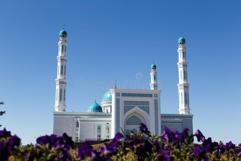 Mesquita do oblast de Karaganda Karaganda, Cazaquistão fotografia de stock