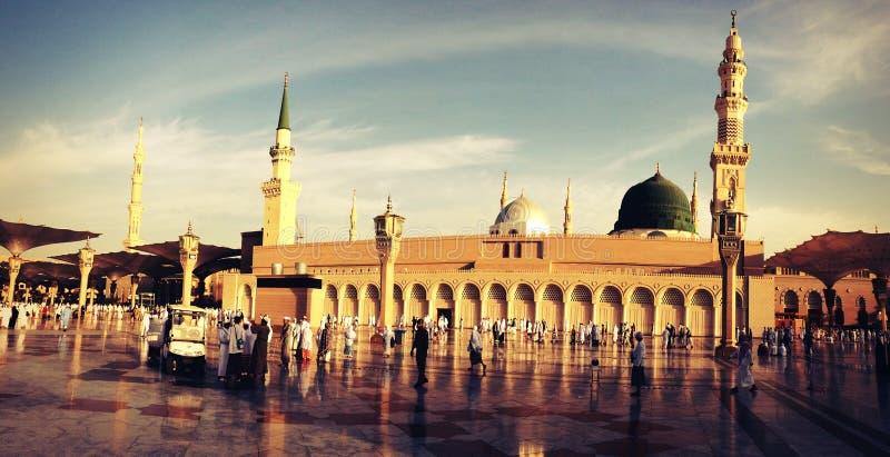 A mesquita do profeta foto de stock