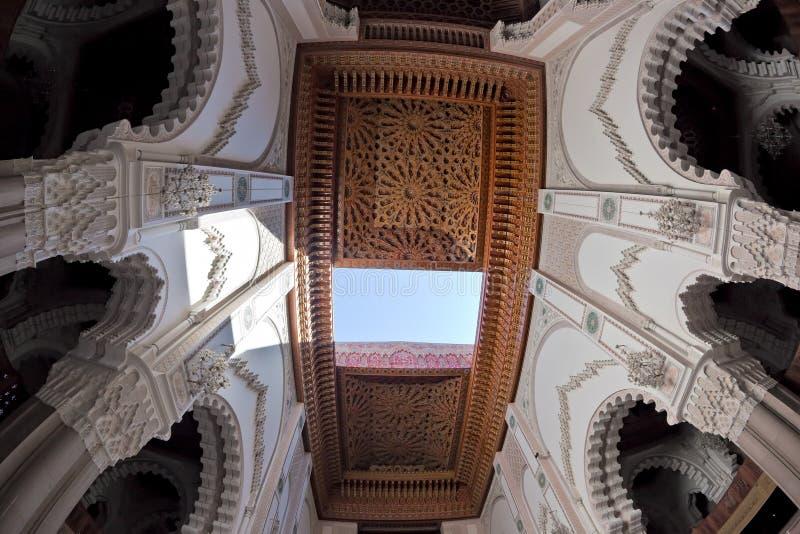 Mesquita do rei Hassan II imagens de stock