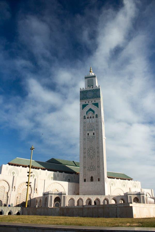 Mesquita do rei Hassan II, Casablanca, Marrocos fotografia de stock