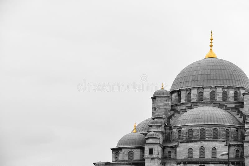 Mesquita e minarete fotos de stock