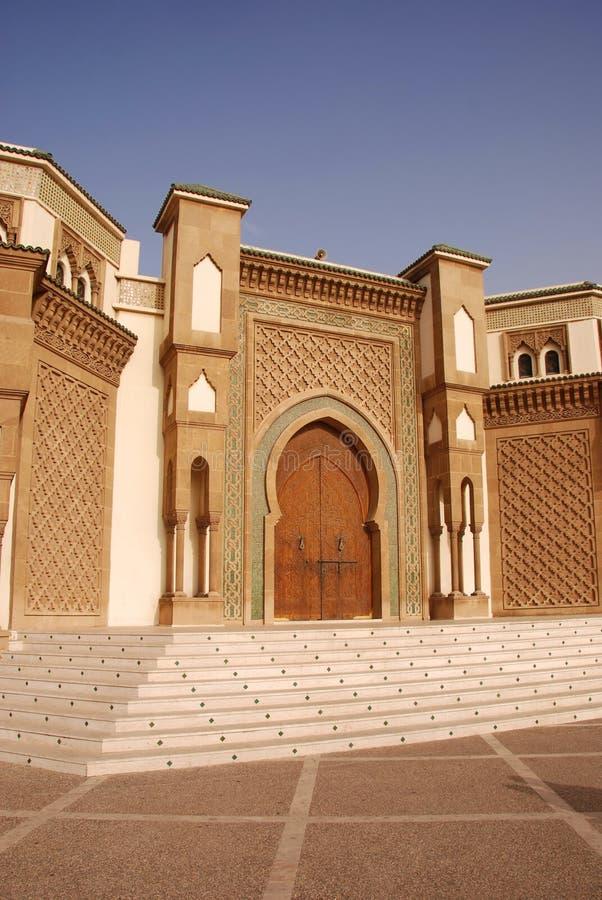 Mesquita em Agadir, Marrocos fotografia de stock