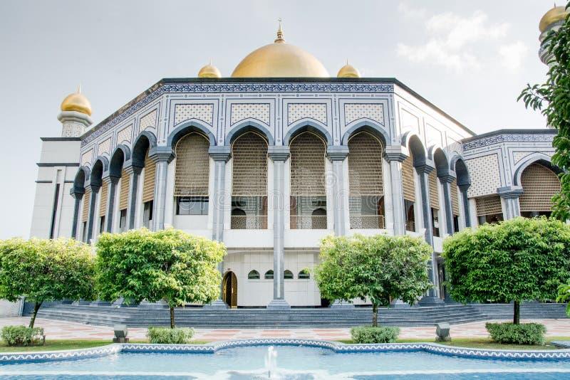 Mesquita em Brunei imagens de stock