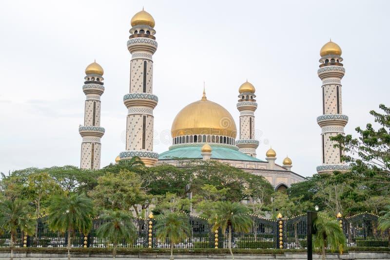 Mesquita em Brunei fotografia de stock