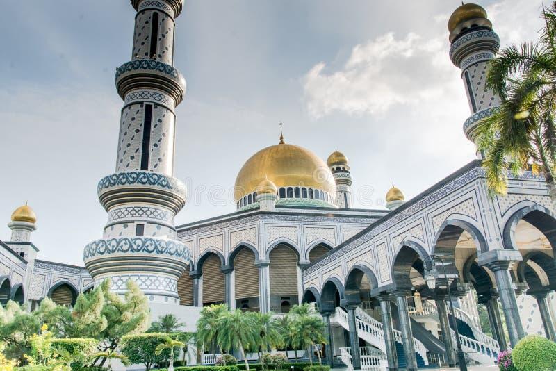 Mesquita em Brunei foto de stock