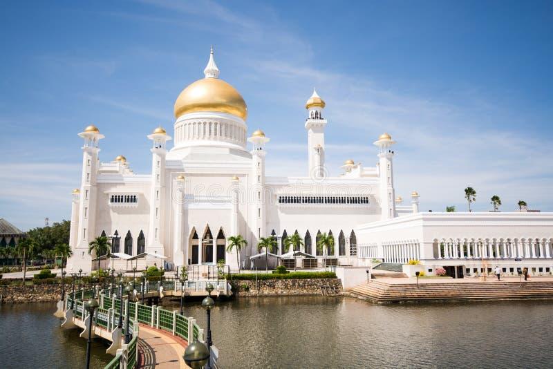 Mesquita em BSB, Brunei Darussalam foto de stock