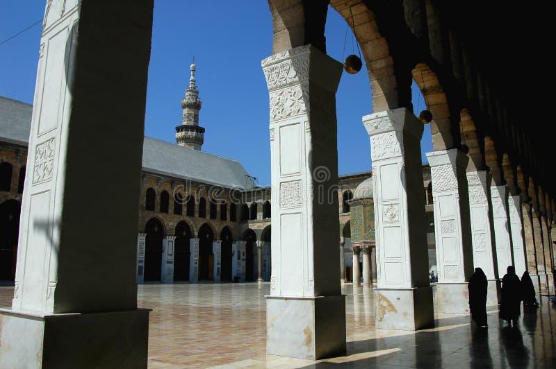 Mesquita em Damasco imagem de stock royalty free