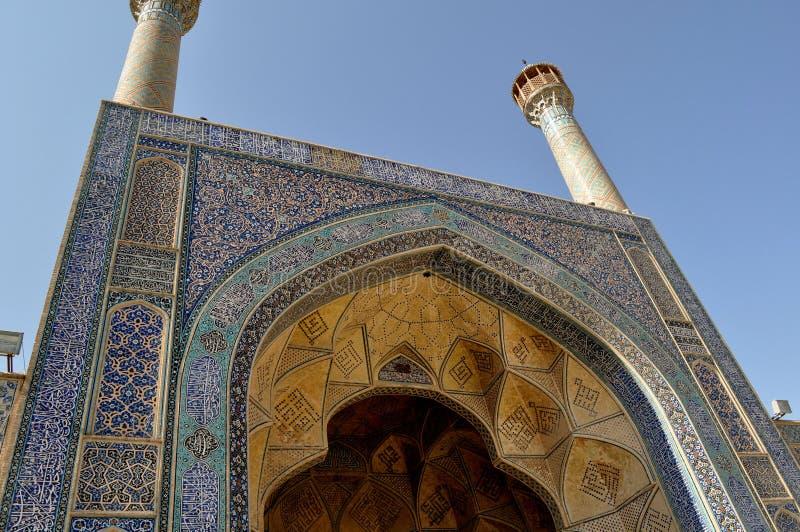 Mesquita em Irã imagem de stock royalty free
