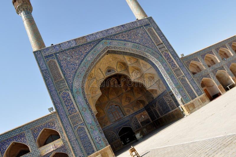Mesquita em Irã foto de stock