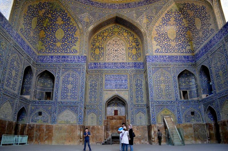 Mesquita em Irã, Esfahan imagem de stock