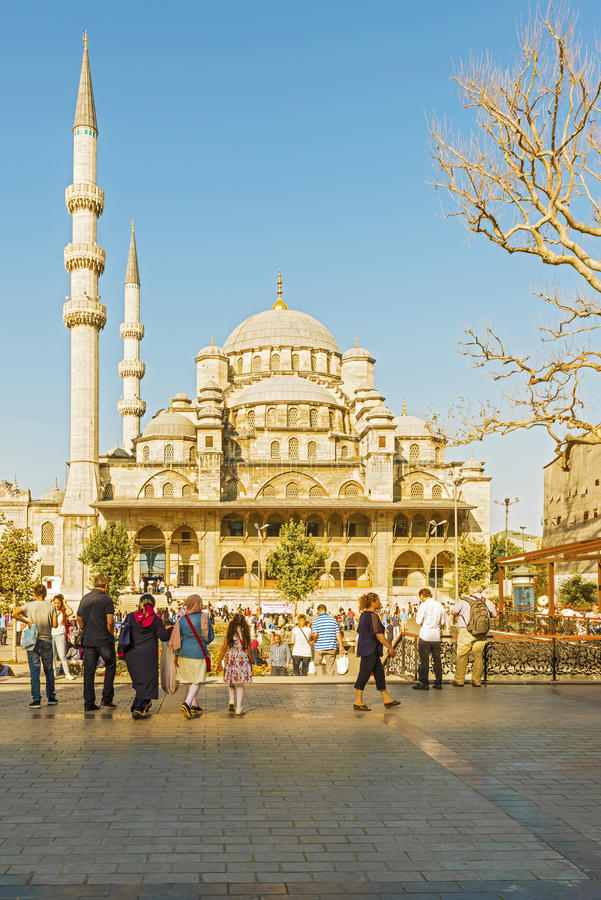 Mesquita em Istambul, Turquia imagens de stock royalty free