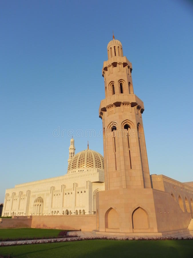 Mesquita em oman fotografia de stock royalty free