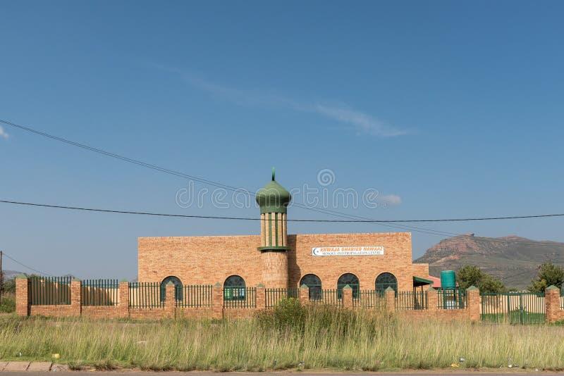 Mesquita em Phuthaditjhaba imagens de stock