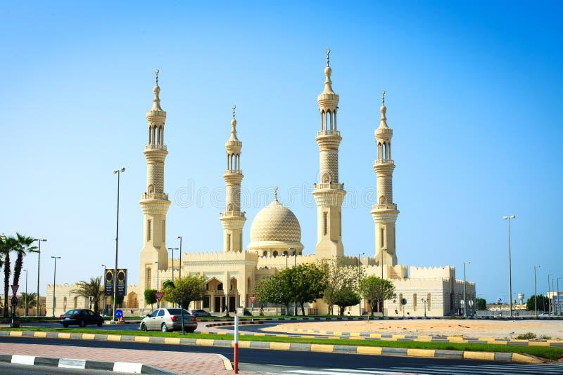Mesquita em Ras Al Khaimah, UAE fotos de stock