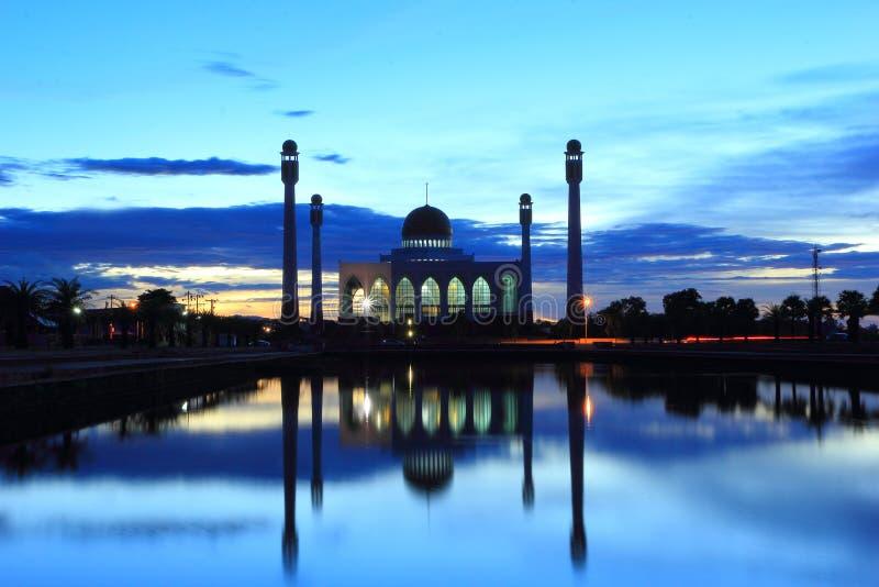 Mesquita em Tailândia imagem de stock