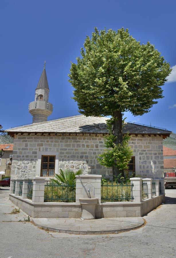 Mesquita em Trebinje imagens de stock royalty free
