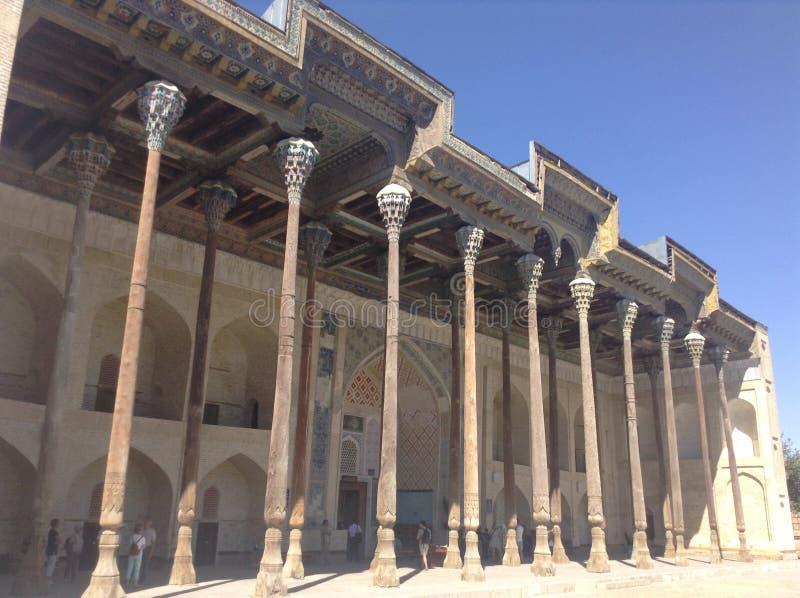 Mesquita em Uzbekistan imagens de stock